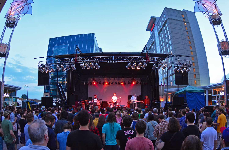 Hopscotch Music Festival in Raleigh, North Carolina