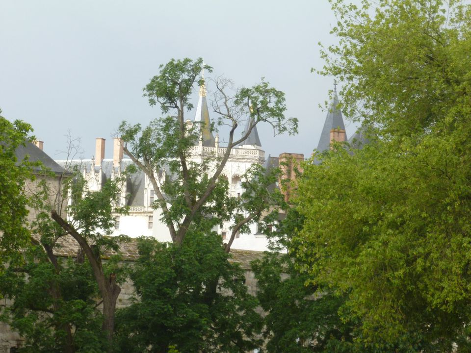 The Chateau of the Dukes of Brittany in Nantes