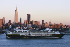 Cruise Ship in New York