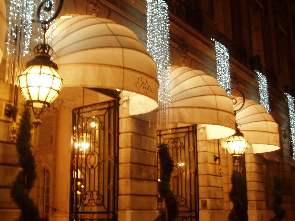 El Hotel Ritz en París es uno de los palacios de la ciudad.