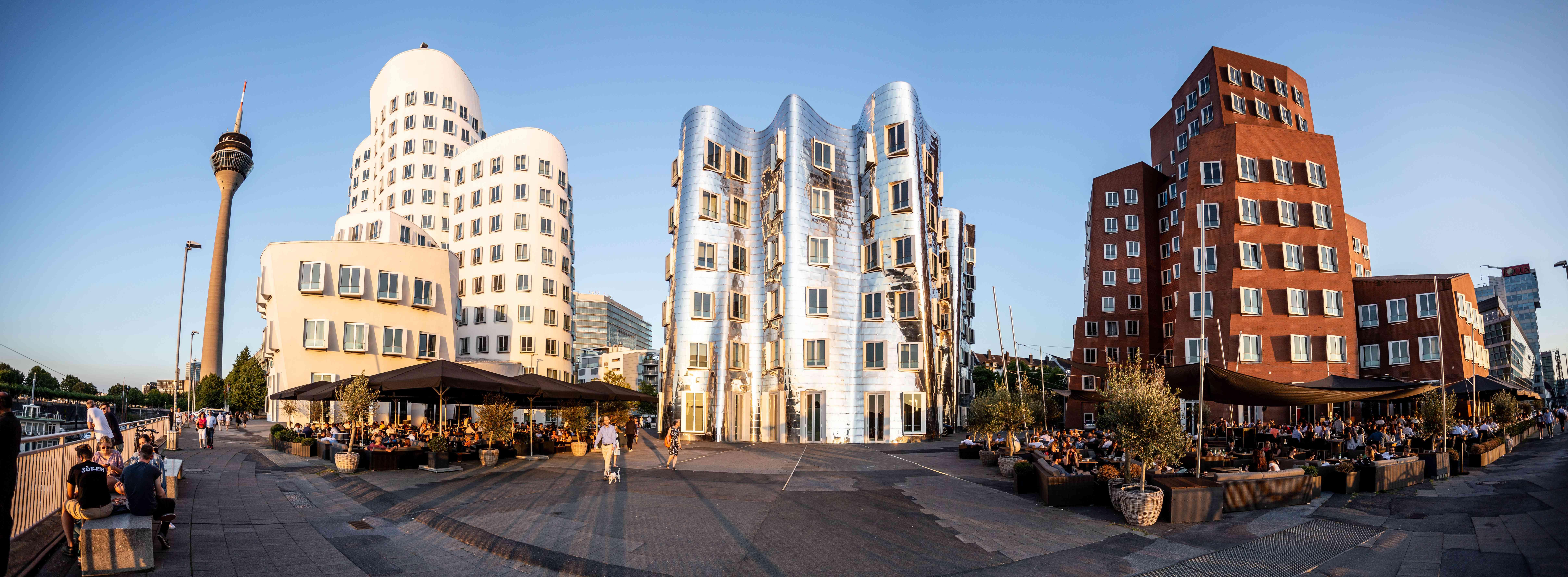 Medien Hafen architecture