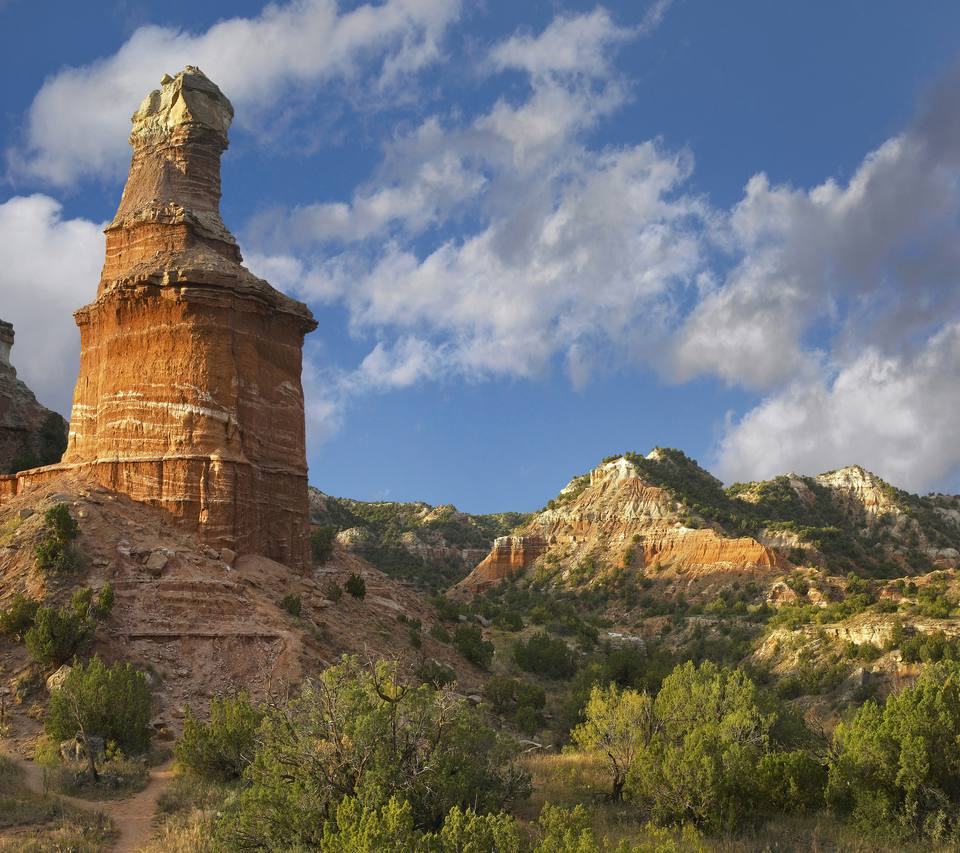 Rock formations at Palo Duro Canyon State Park