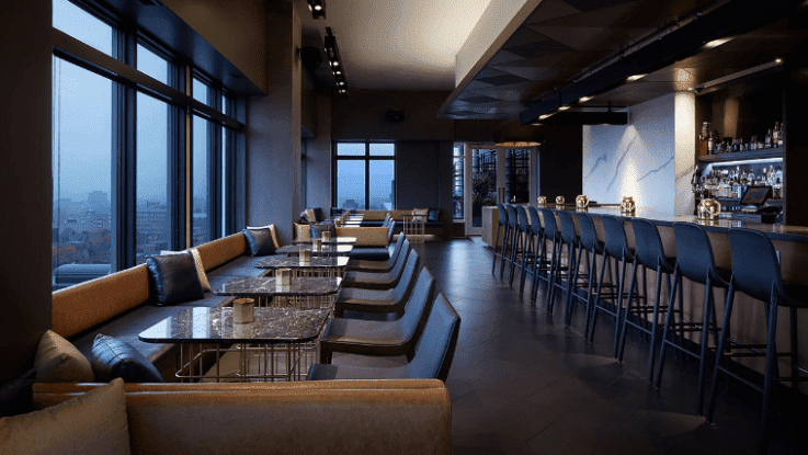 Andaz Hotel 16th Floor Bar, Byward Market, Ottawa, Canada