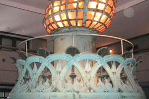 Original Statue of Liberty Torch