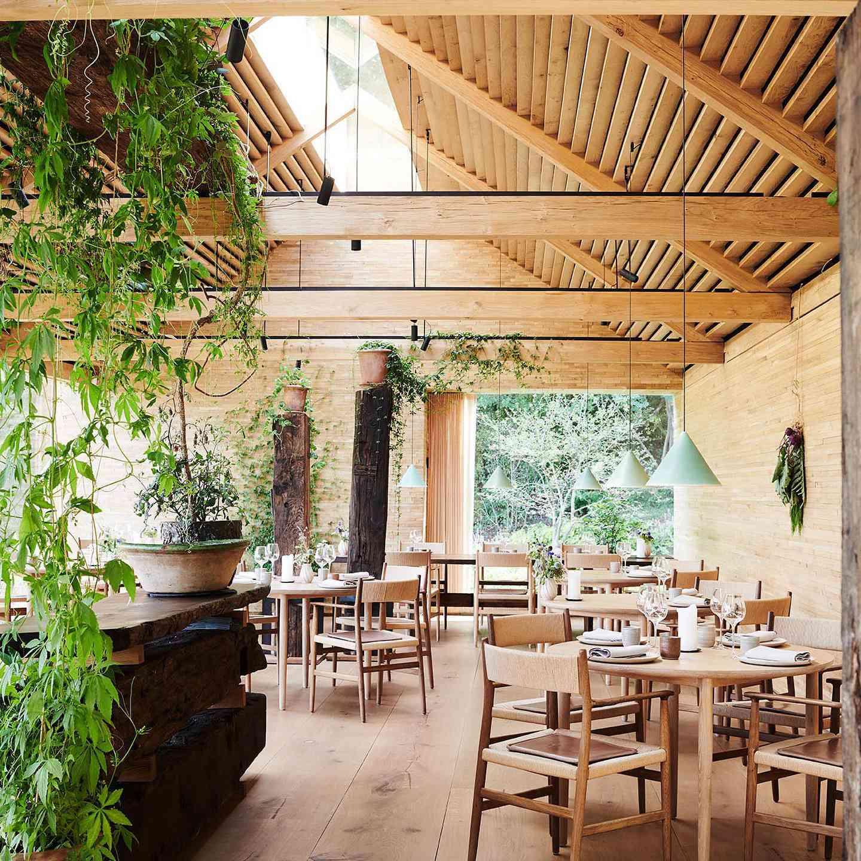 Noma's dining room