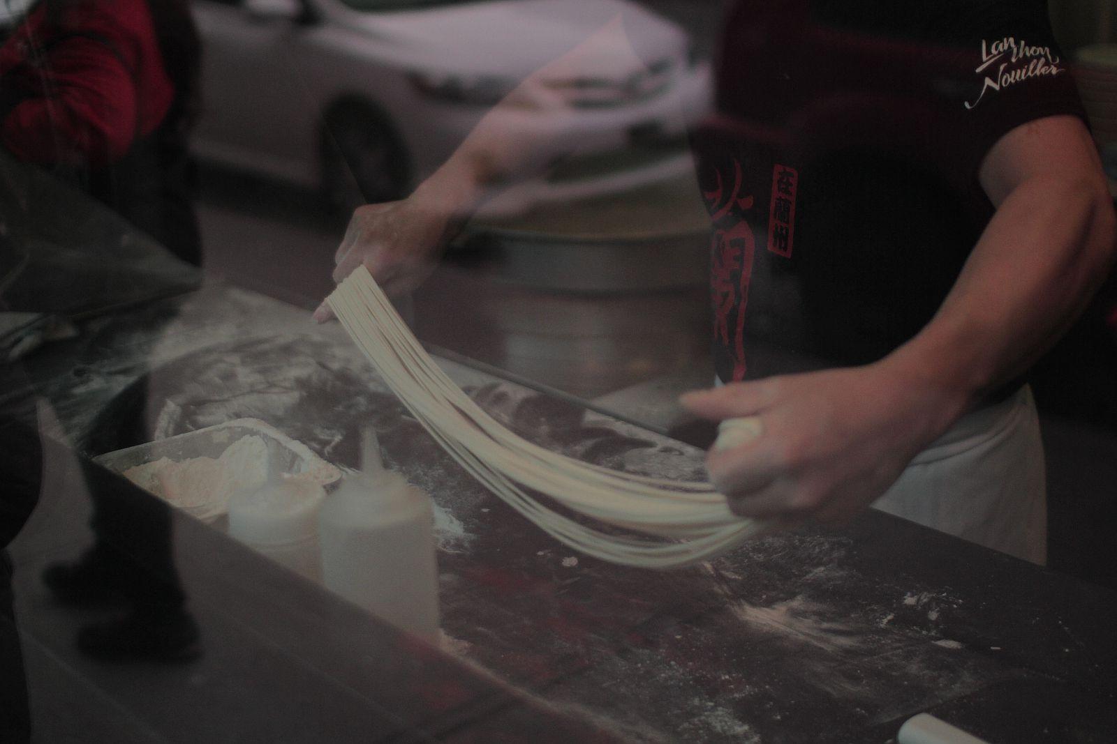 Montreal Chinatown's best cheap eats include the noodles at Nouilles Lao Tzu.
