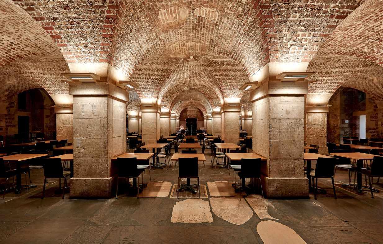 Café in the Crypt, Trafalgar Square