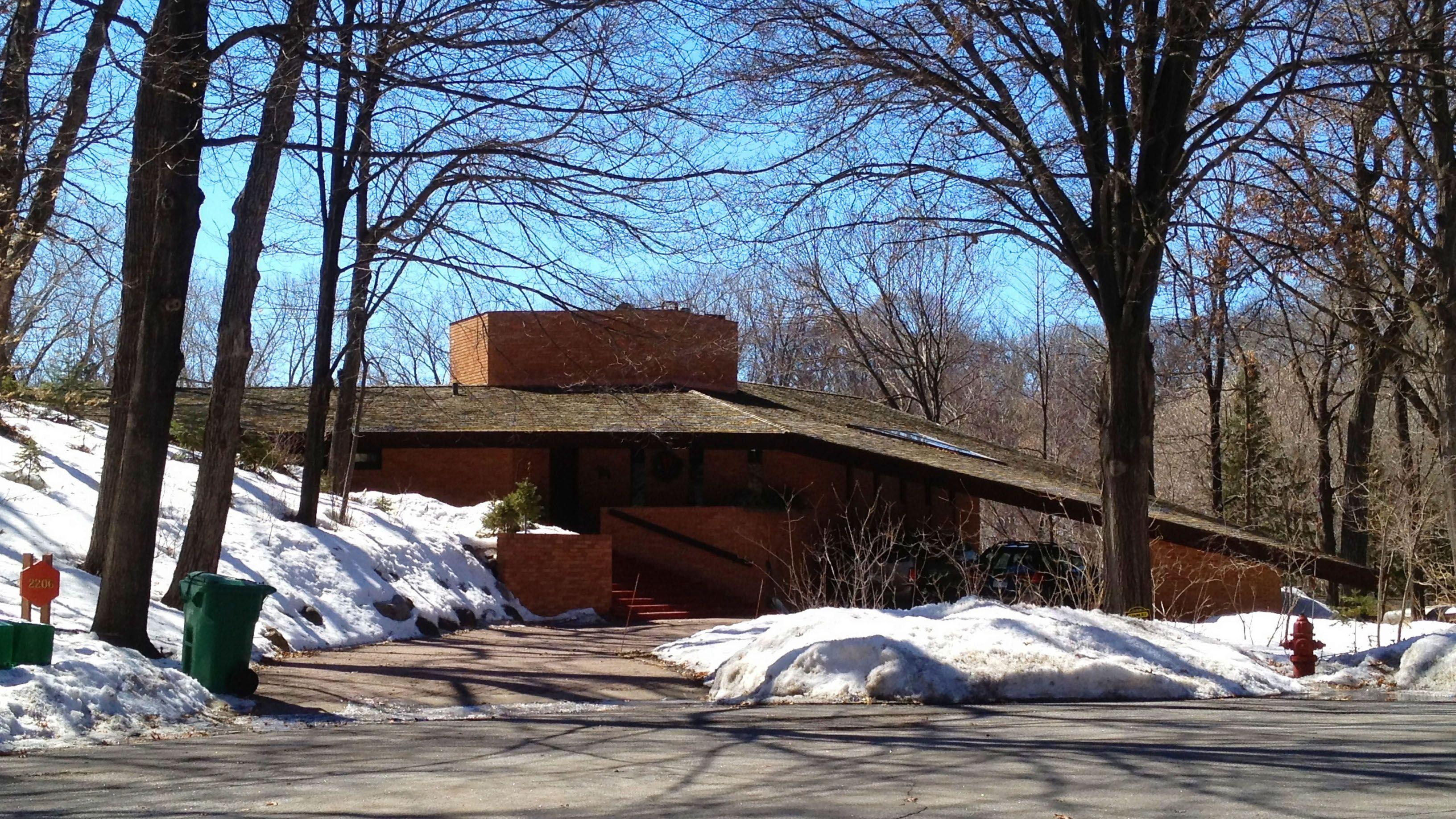 Paul Olfelt House, St. Louis Park, Minnesota, USA