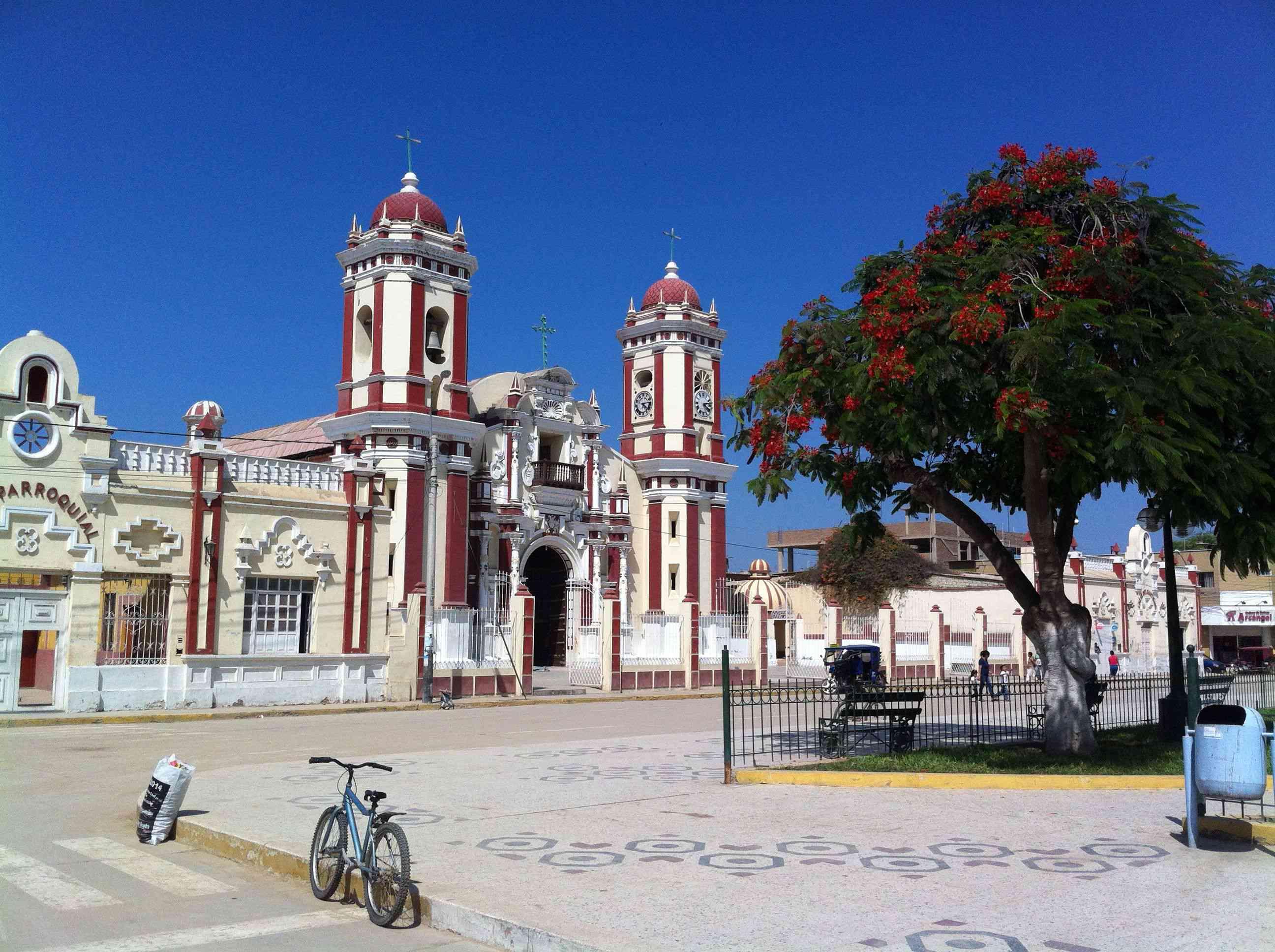 Iglesia de Santa Lucia in Ferreñafe
