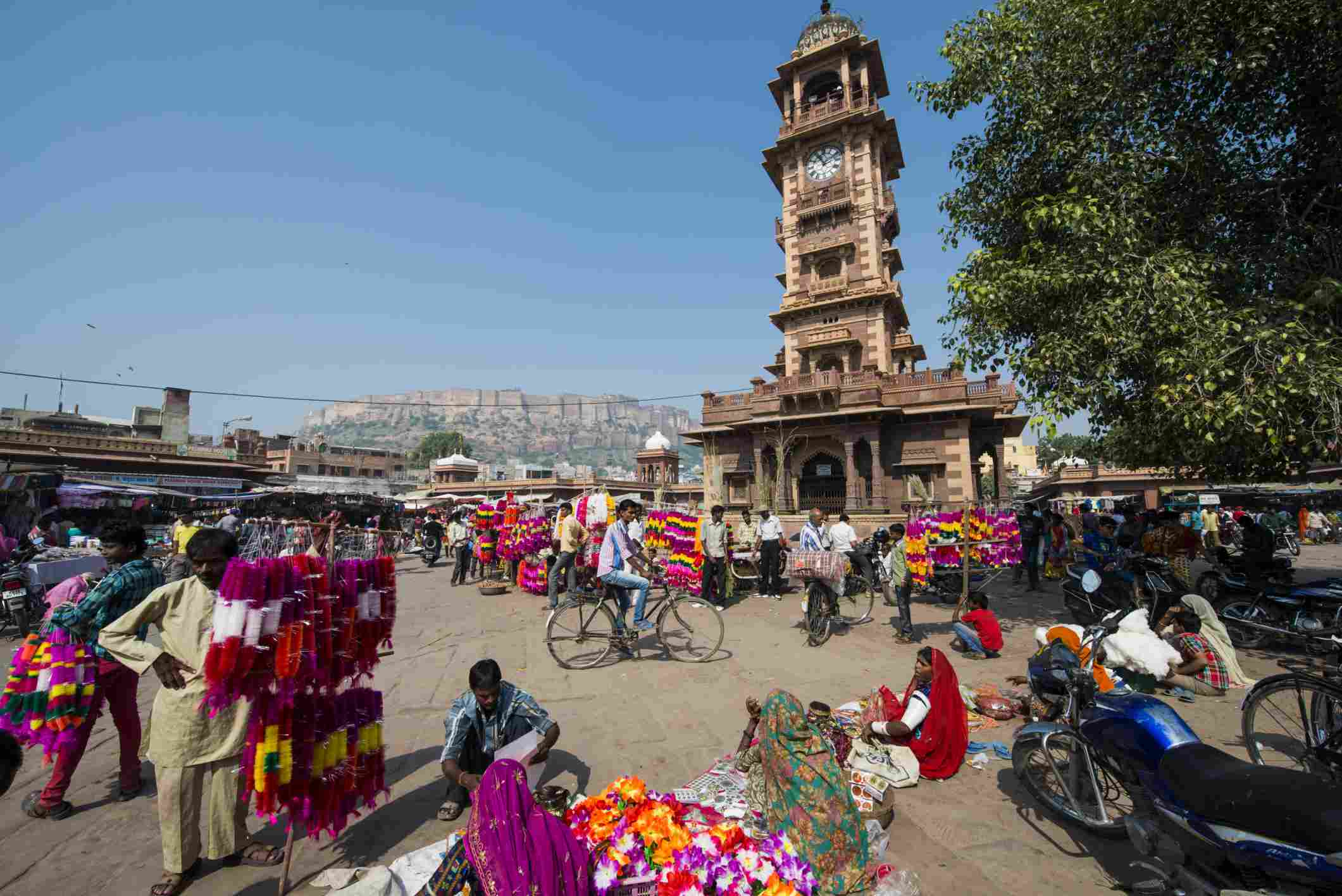Jodhpur market.
