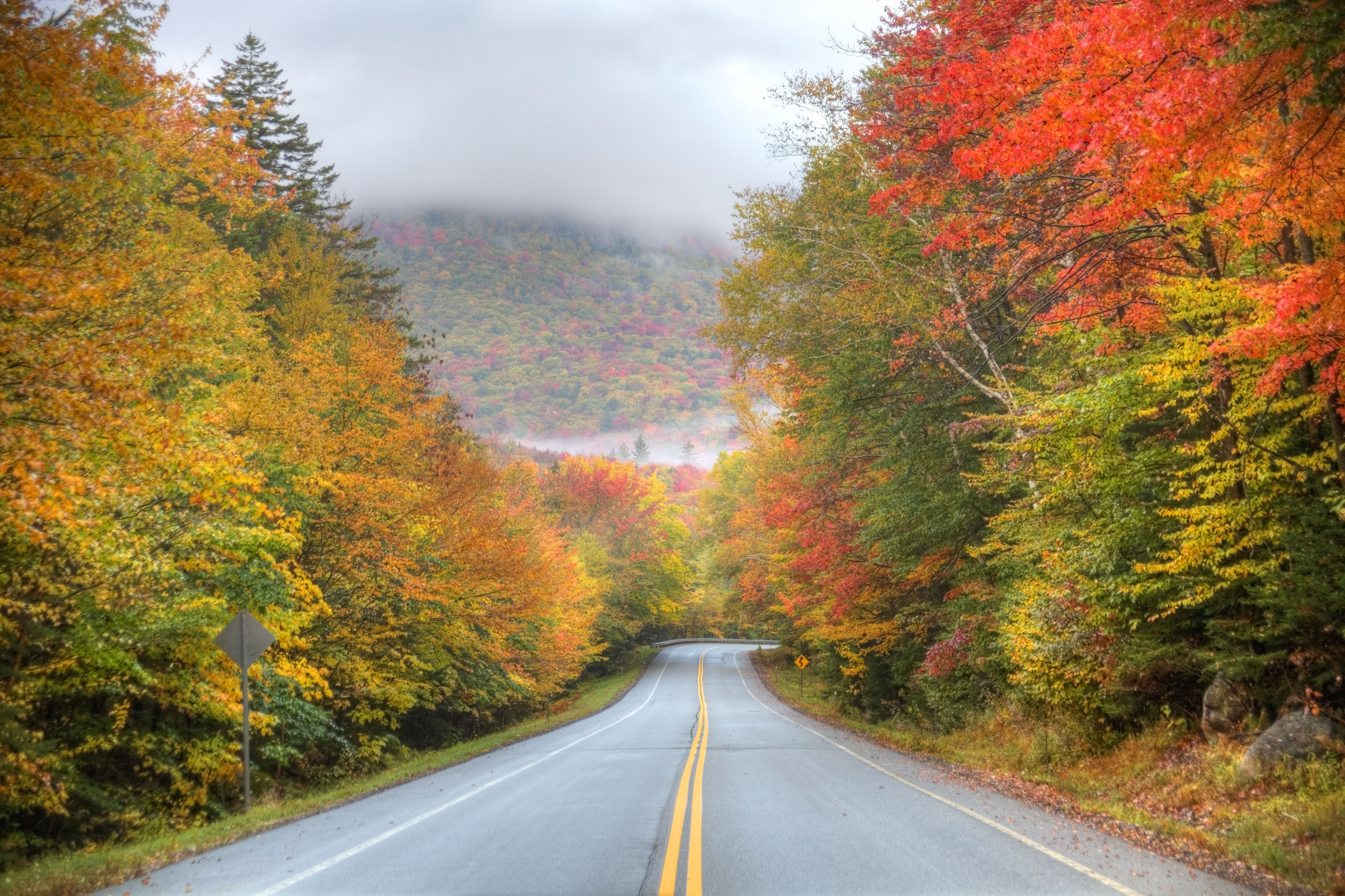 Best Fall Foliage Drives in the New England States