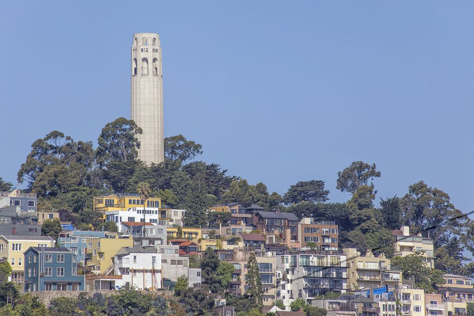 Visiting Coit Tower On Telegraph Hill