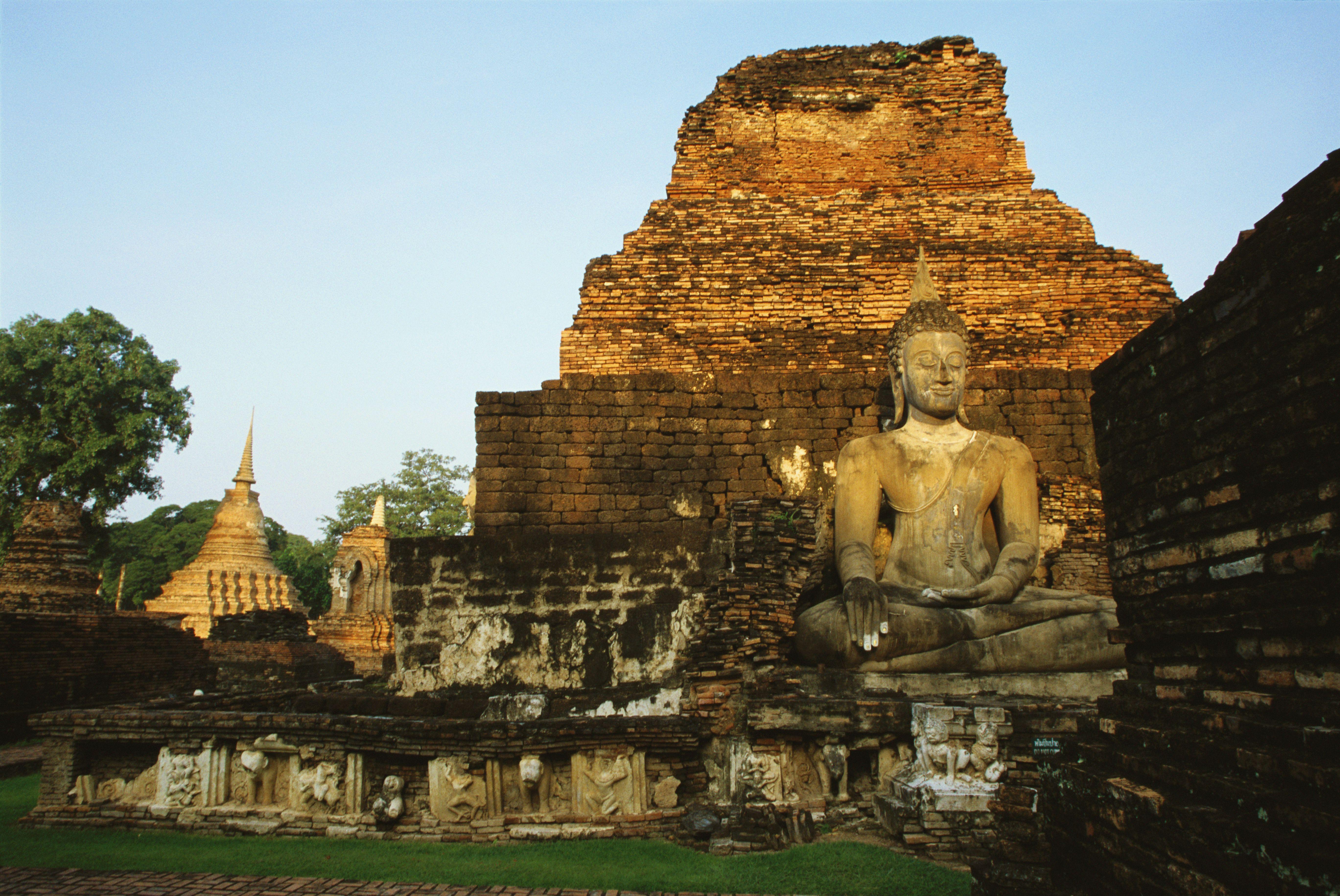 Si Satchanalai Historical Park near Sukhothai