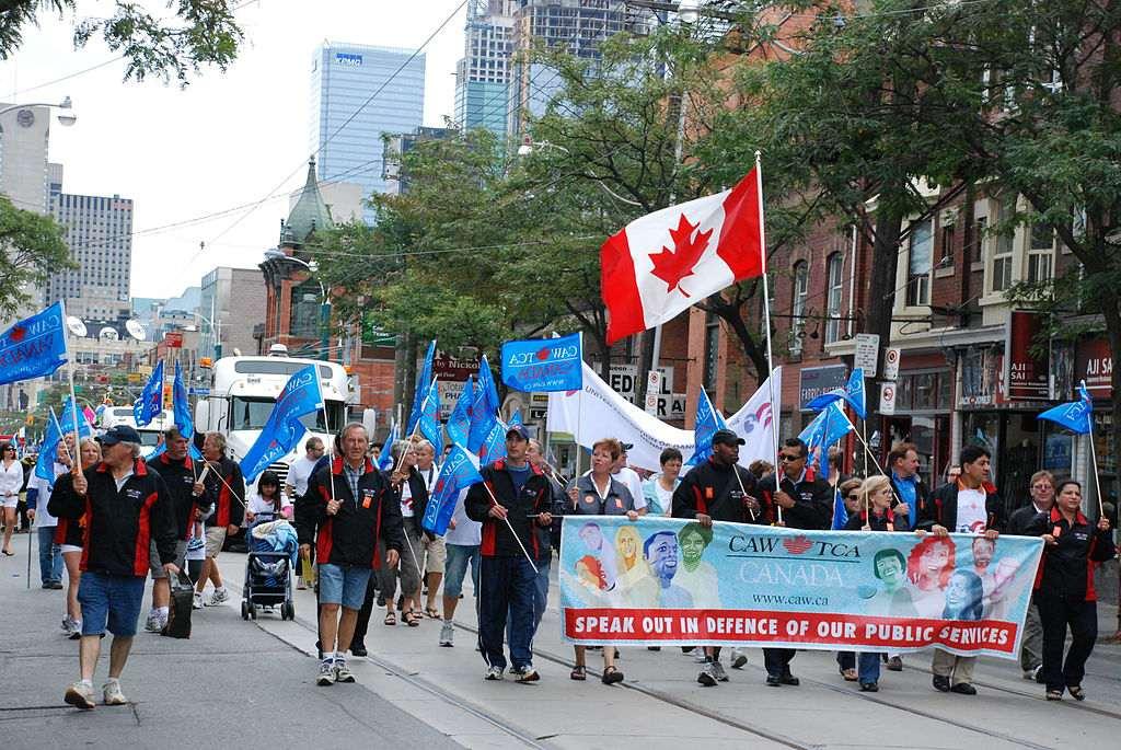 Labour Day Parade, Toronto, Canada