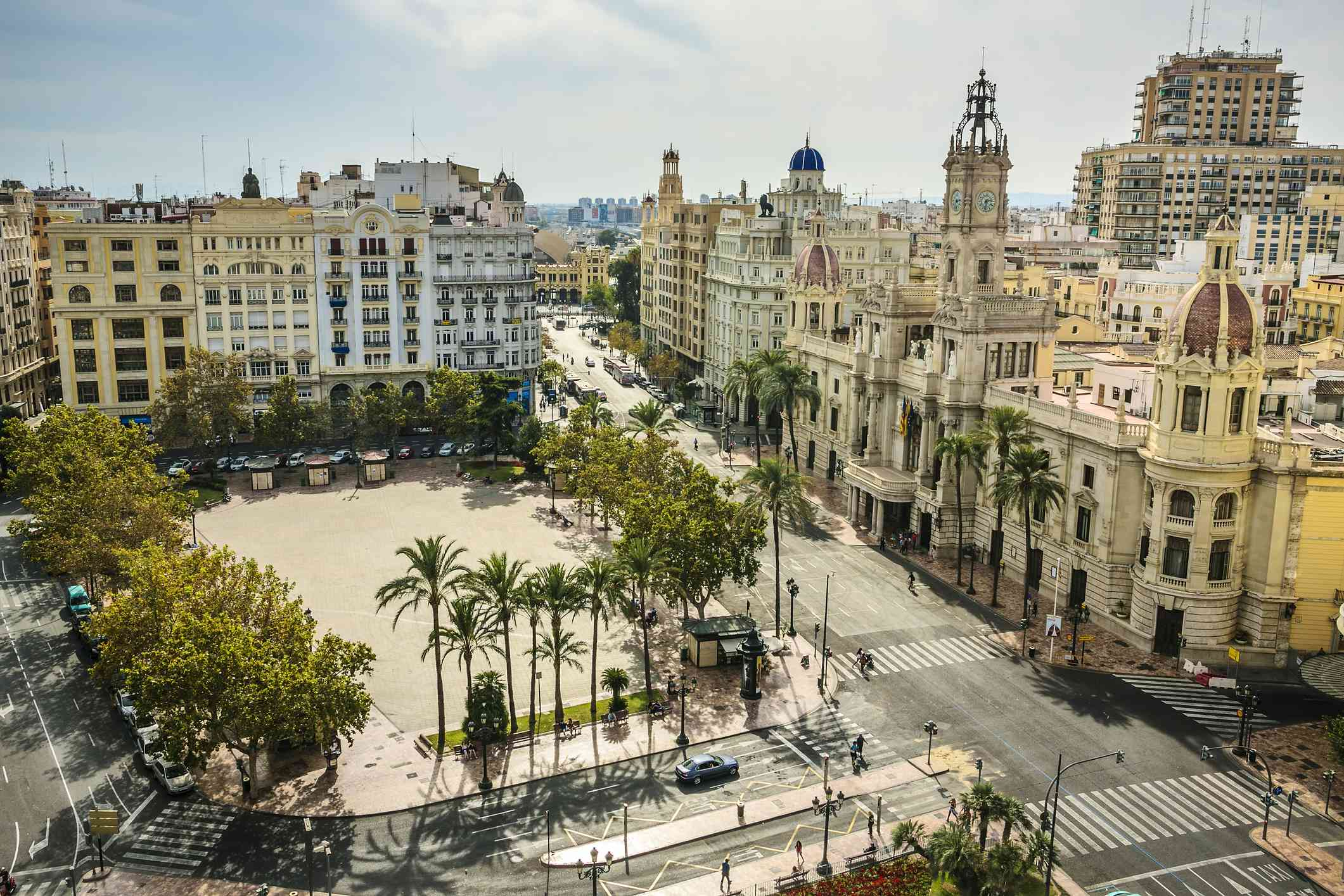 View of Valencia city