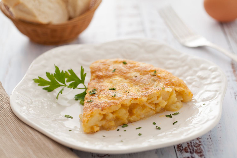 Tortilla de patatas/Spanish potato omelet
