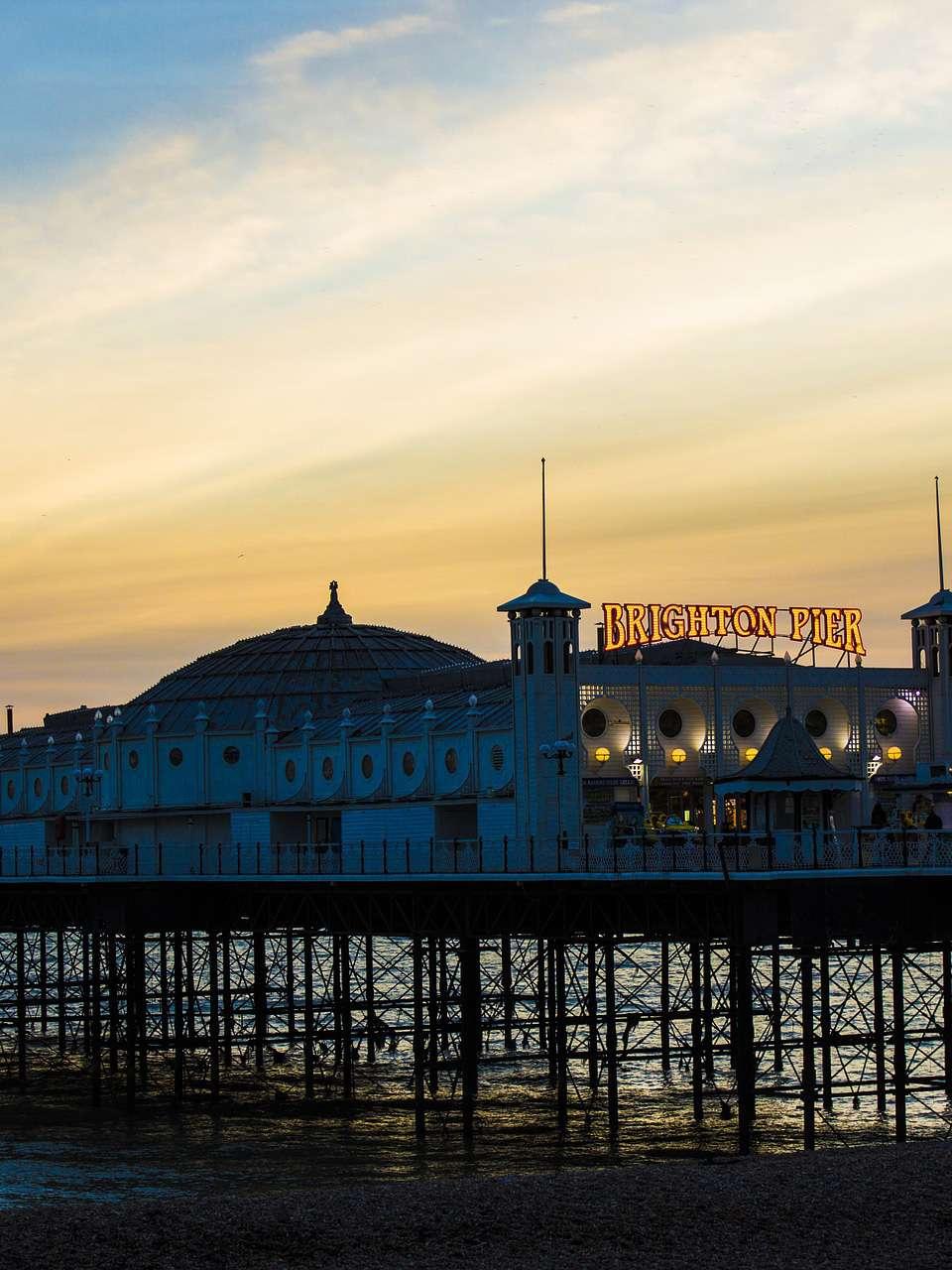 Brighton Pier sunset