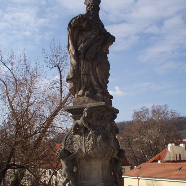 San Adalberto en el Puente de Carlos de Praga