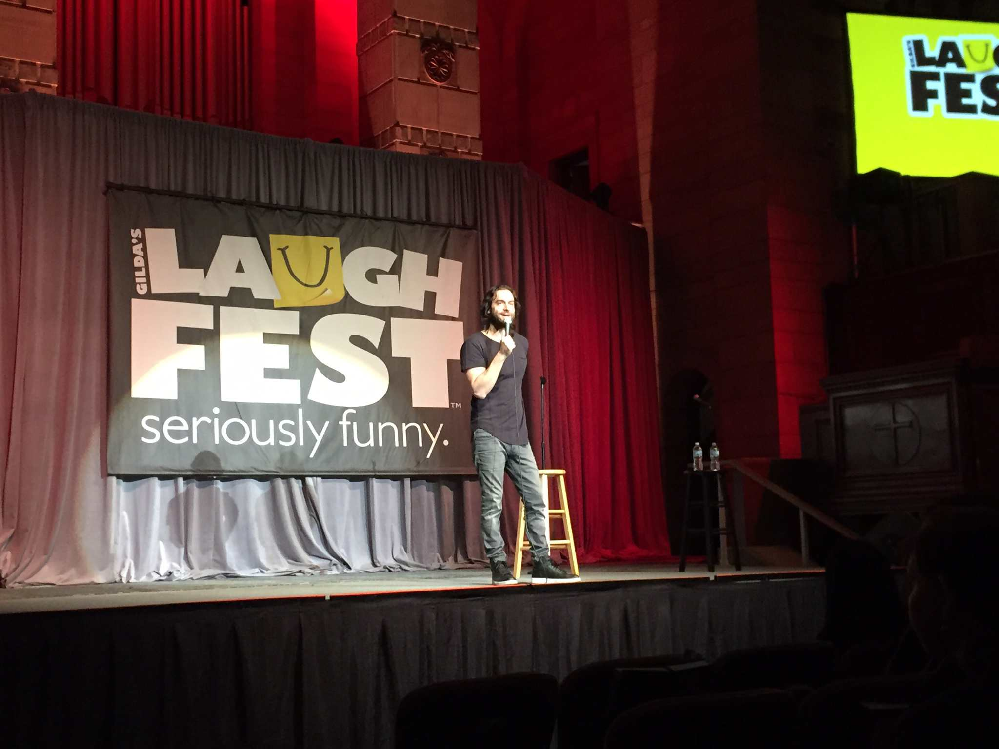 Laughfest.
