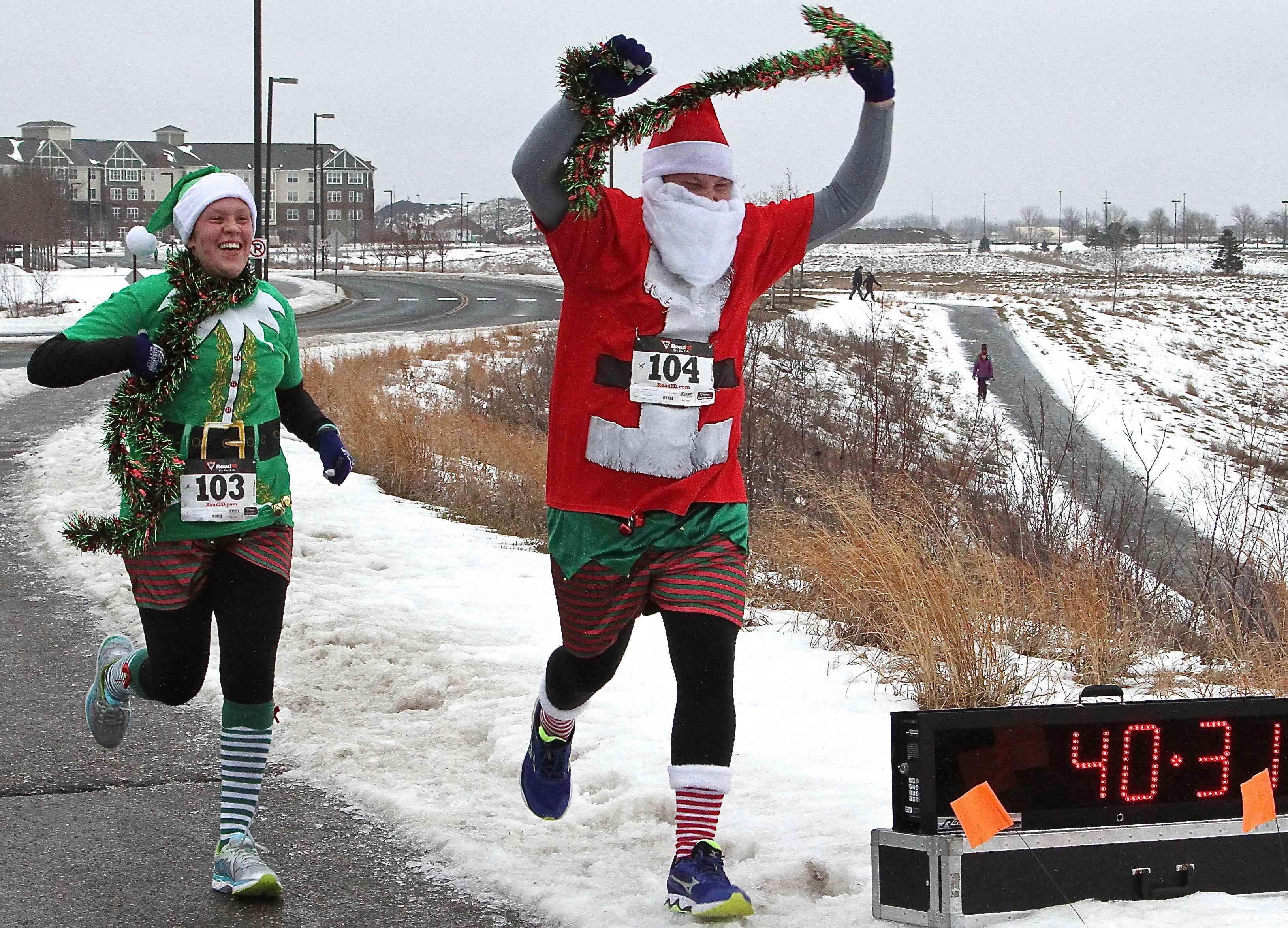 Christmas Day 5K race