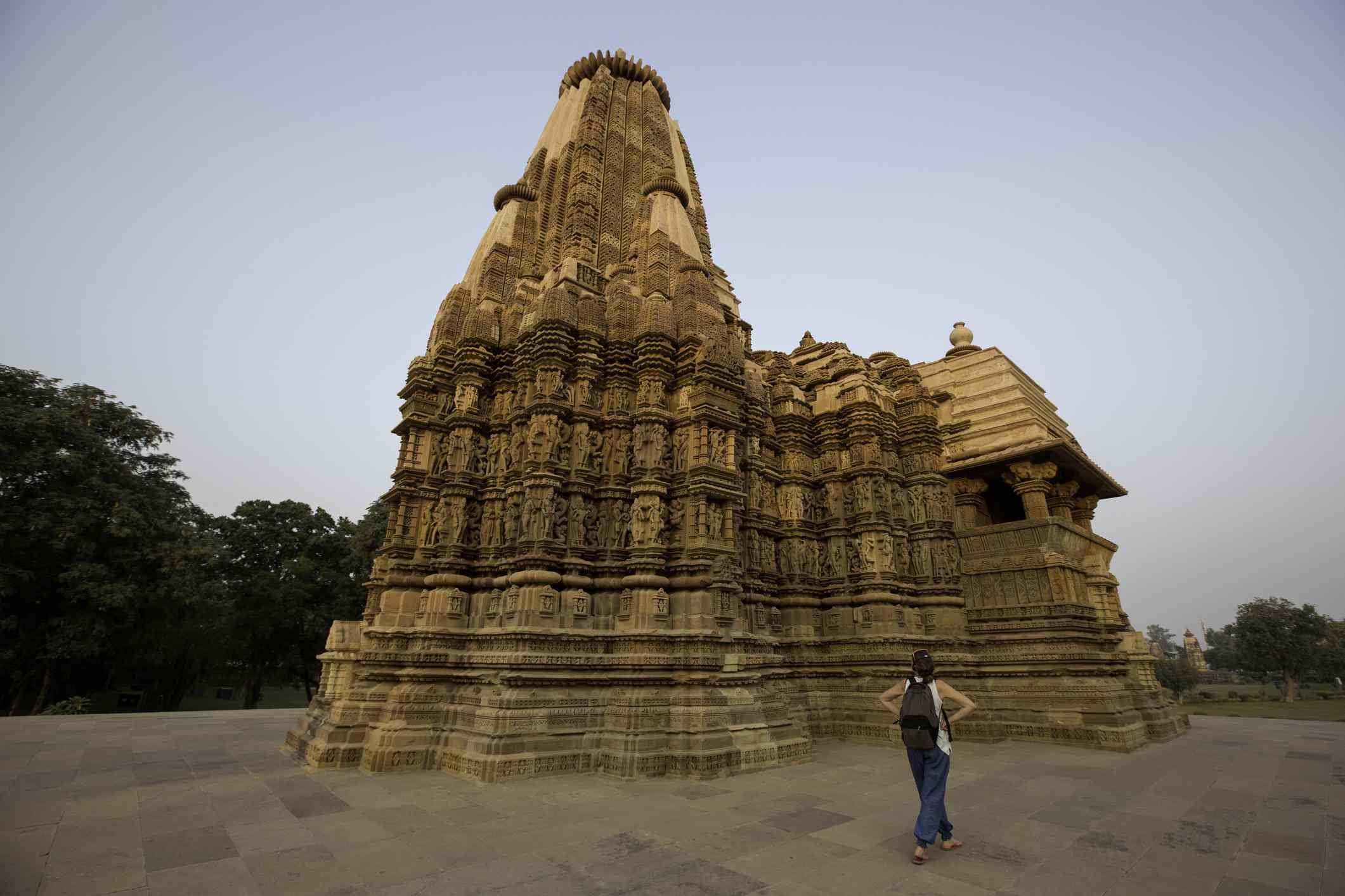Vamana Temple, Khajuraho Madhya Pradesh, India
