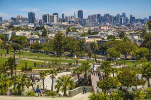 Mission Dolores Park at San Francisco