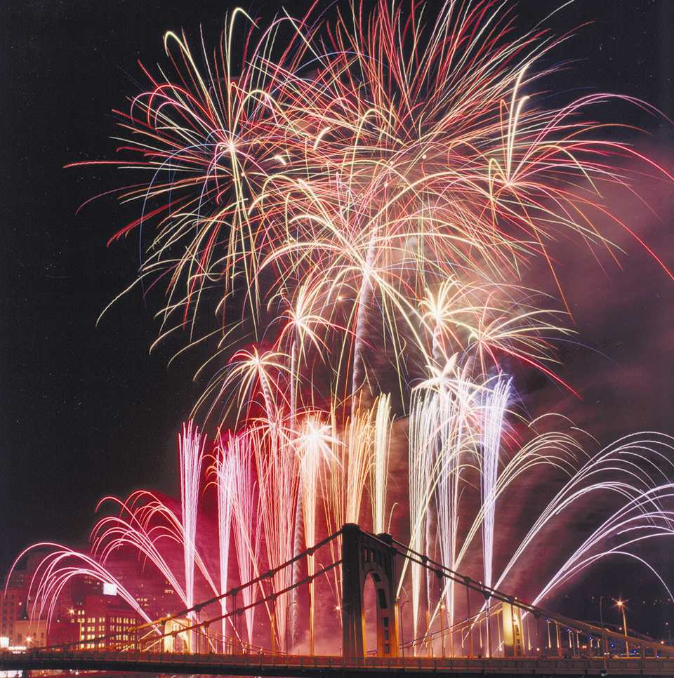 Pittsburgh Light Up Night Fireworks Photo: Zambelli Internationale