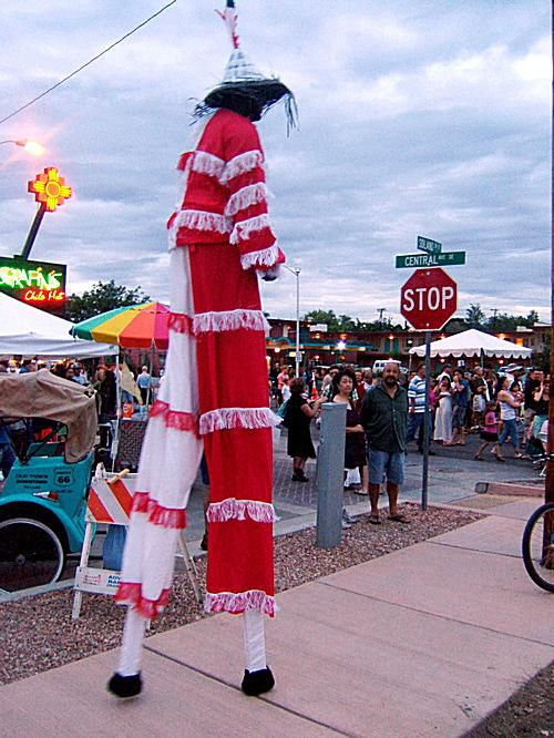 Summerfest Stiltwalker
