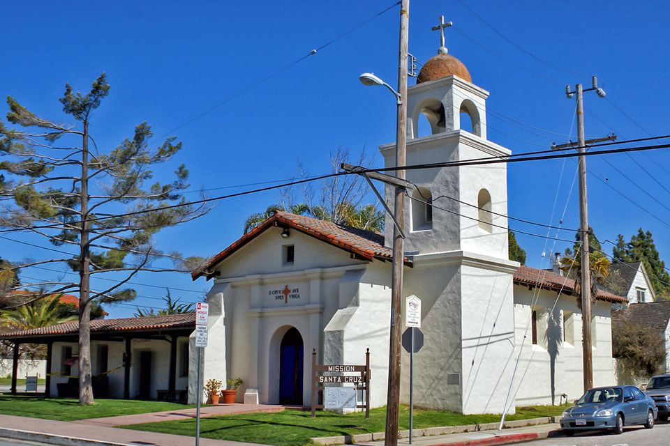 Mission Santa Cruz in California