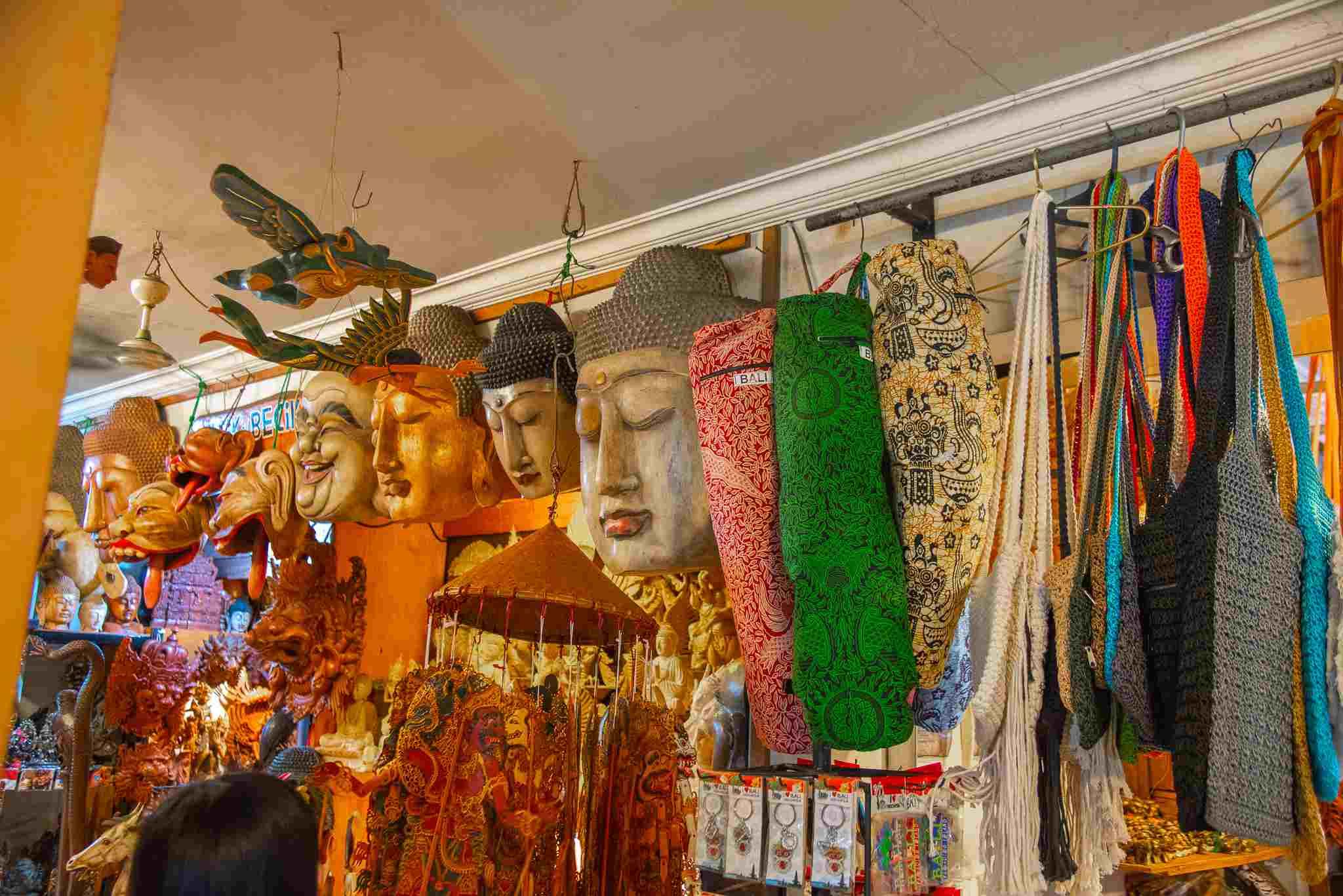 A shop in Ubud Bali