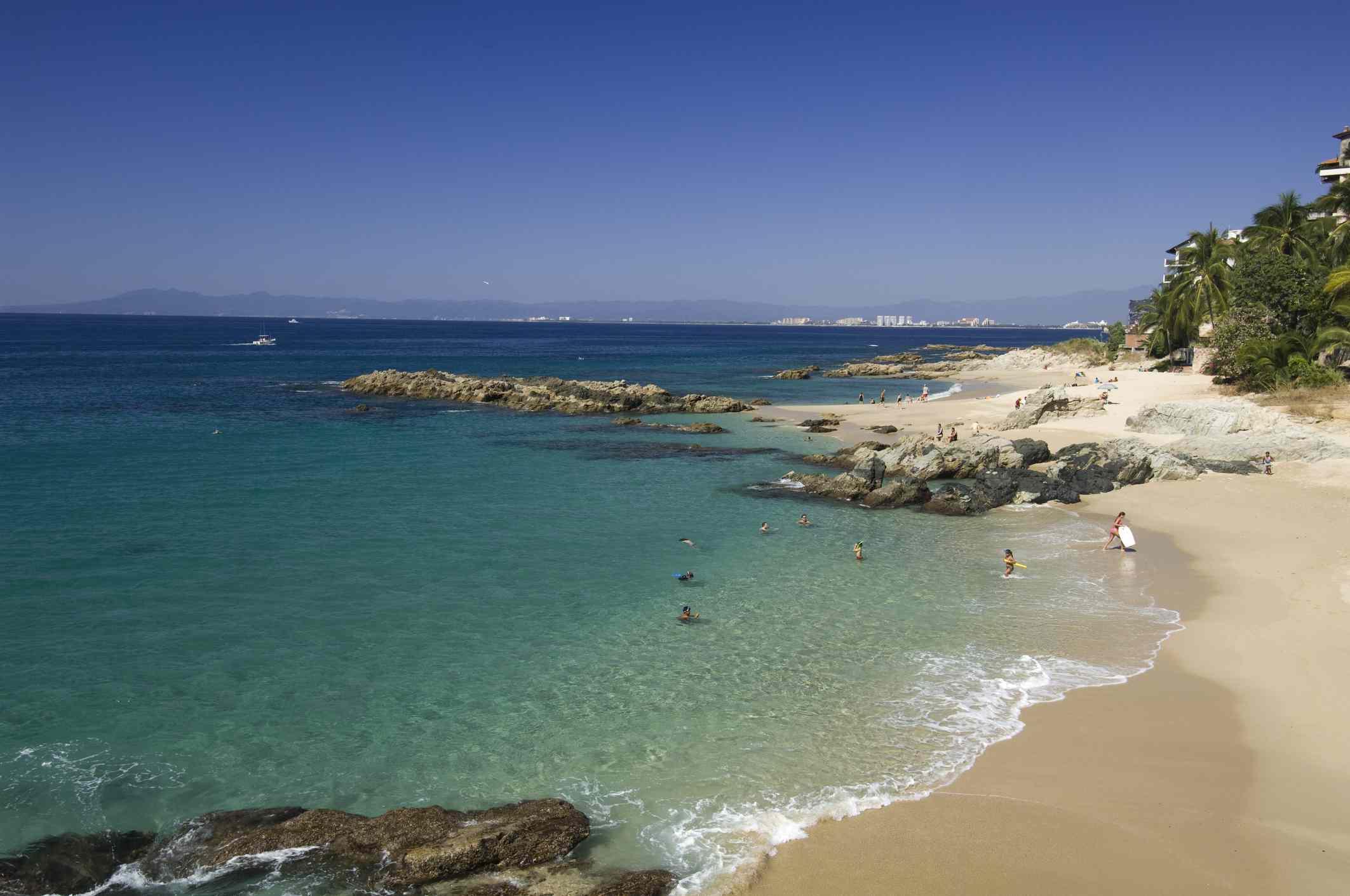 Playa Conchas Chinas Beach in Puerto Vallarta