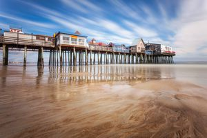 Old Orchard Beach Maine Photo