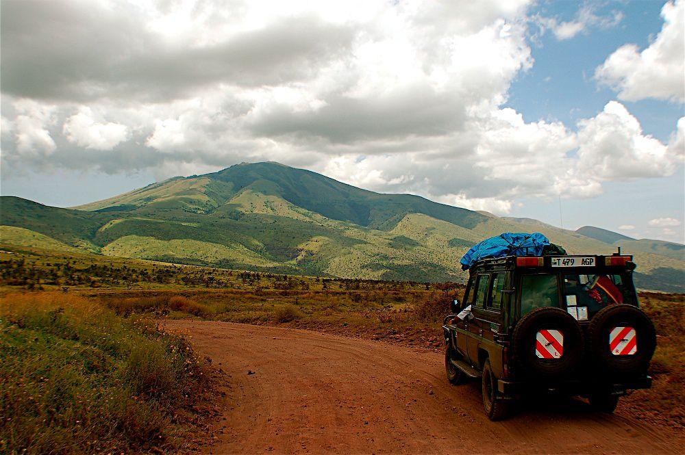 Overland across Africa