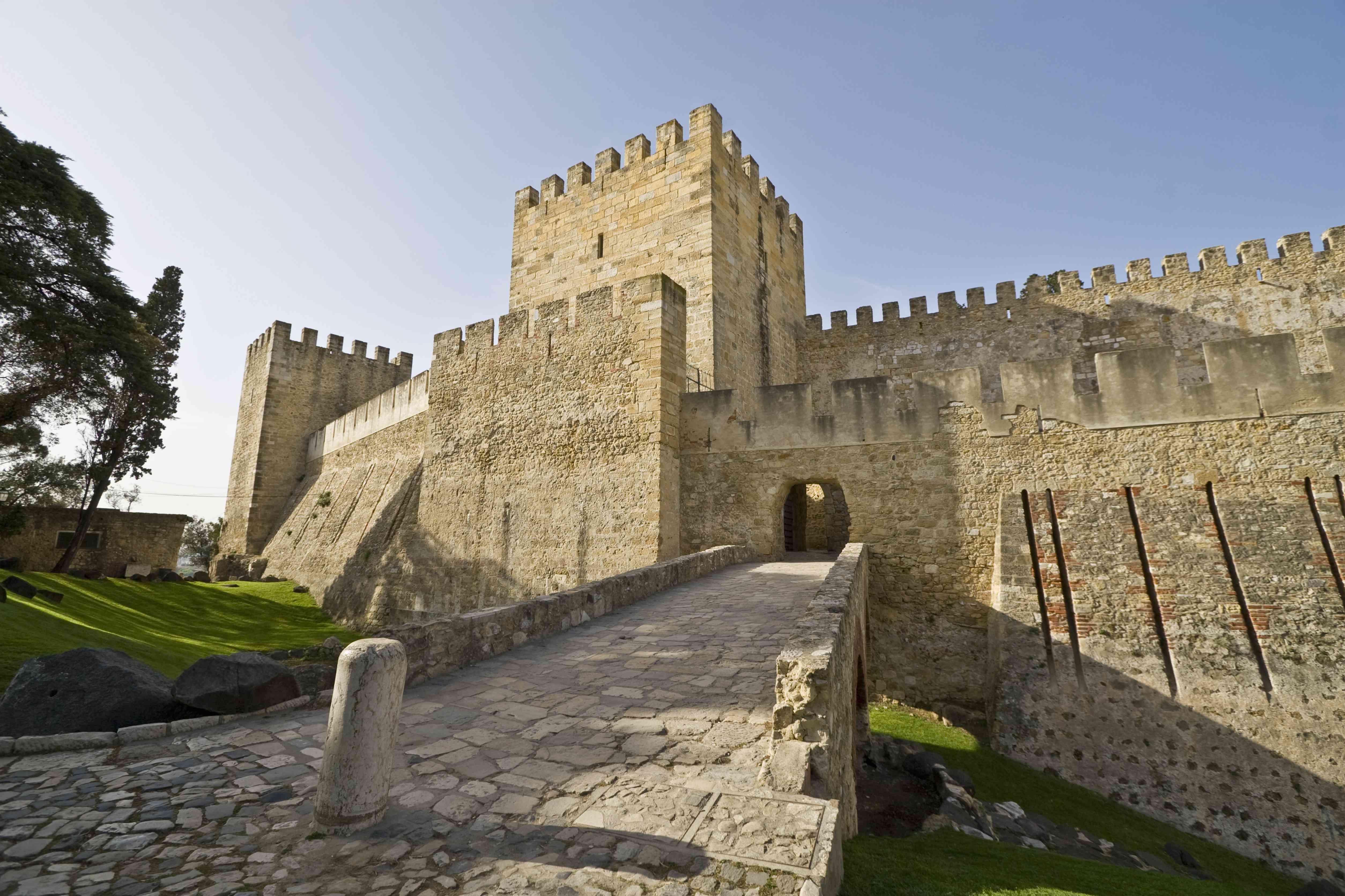 The Castle of São Jorge,The Lisbon, Portugal