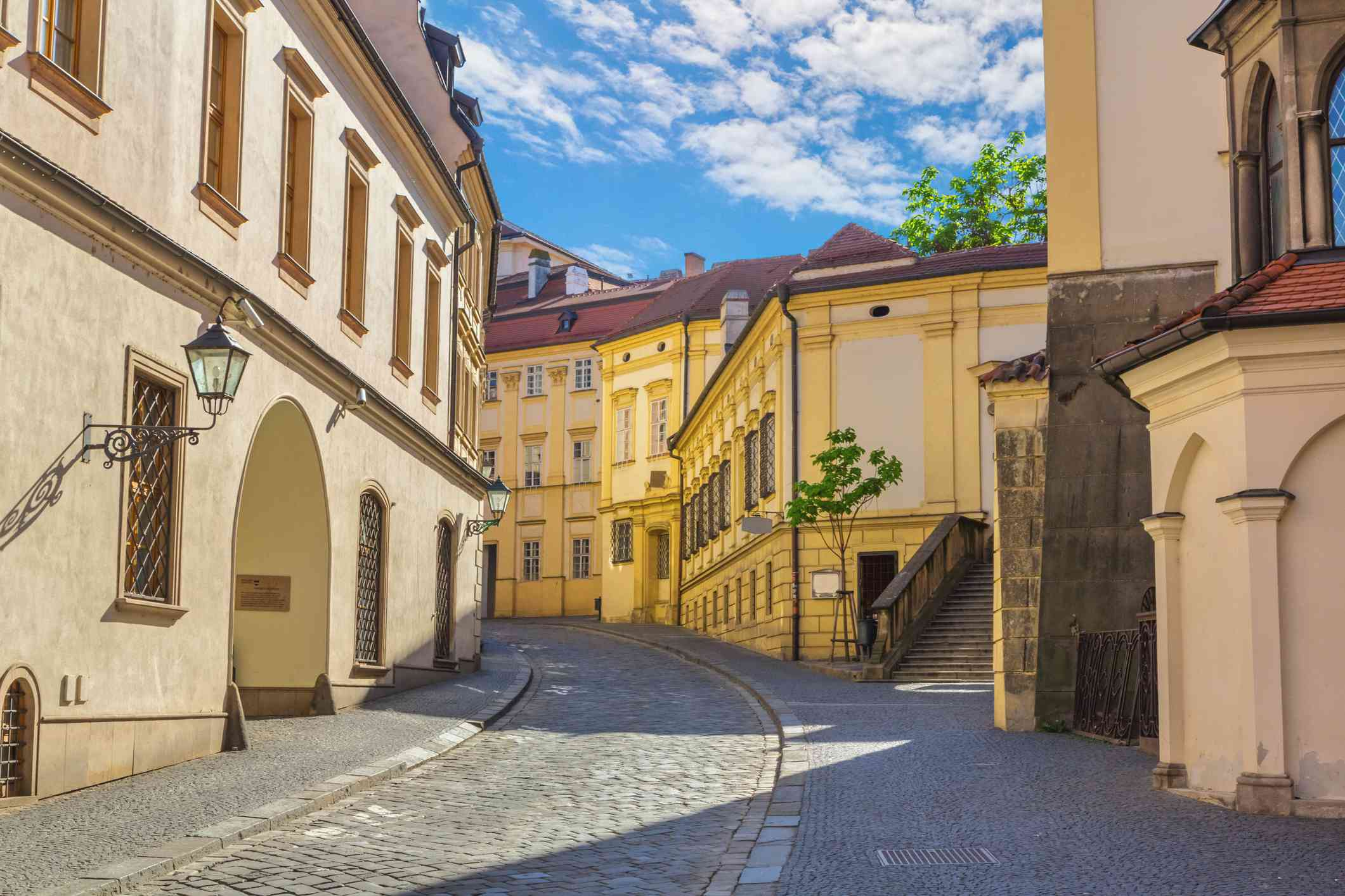 The old town in Brno, Czech Republic