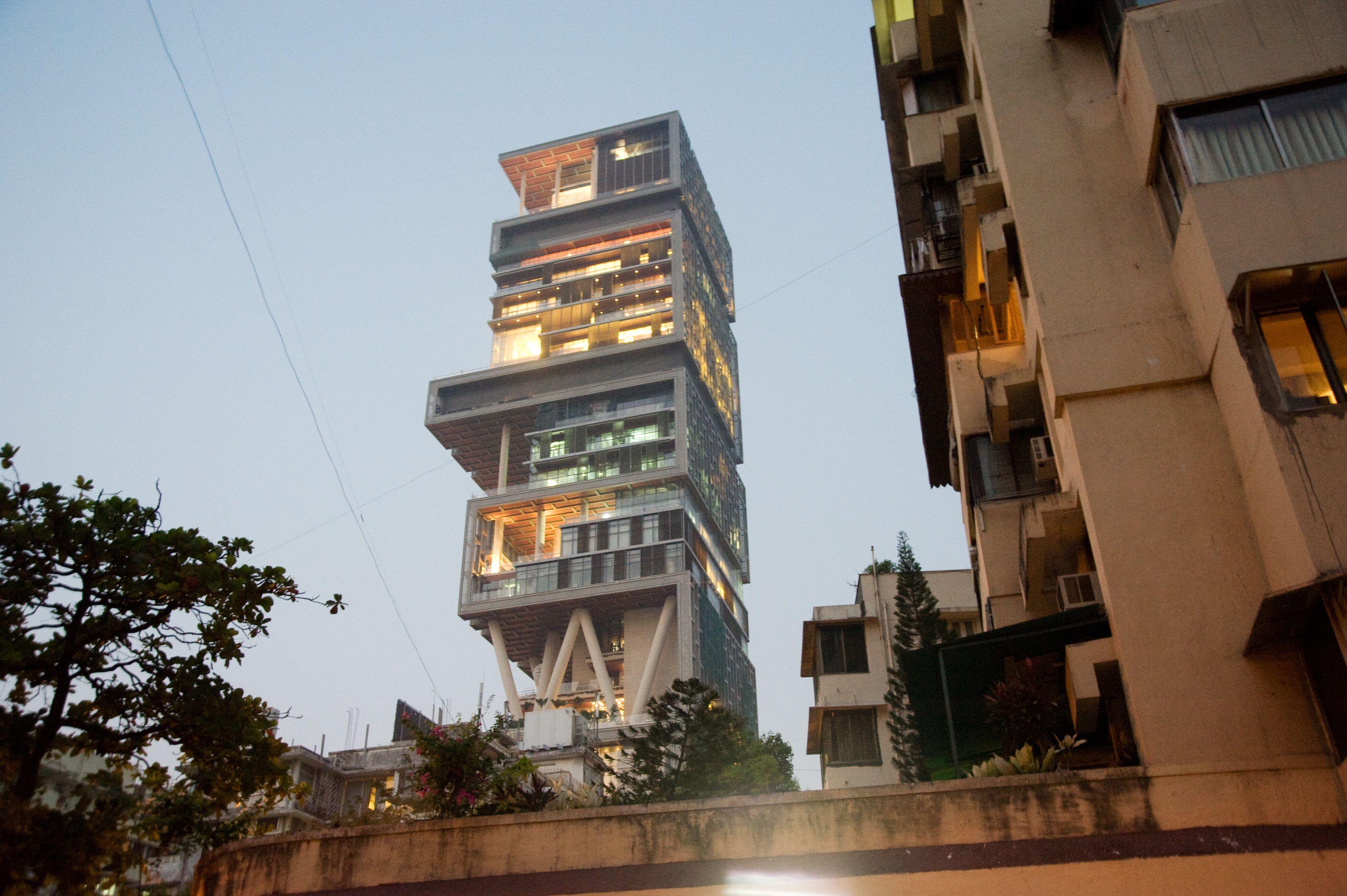 Ambani residence, Mumbai.