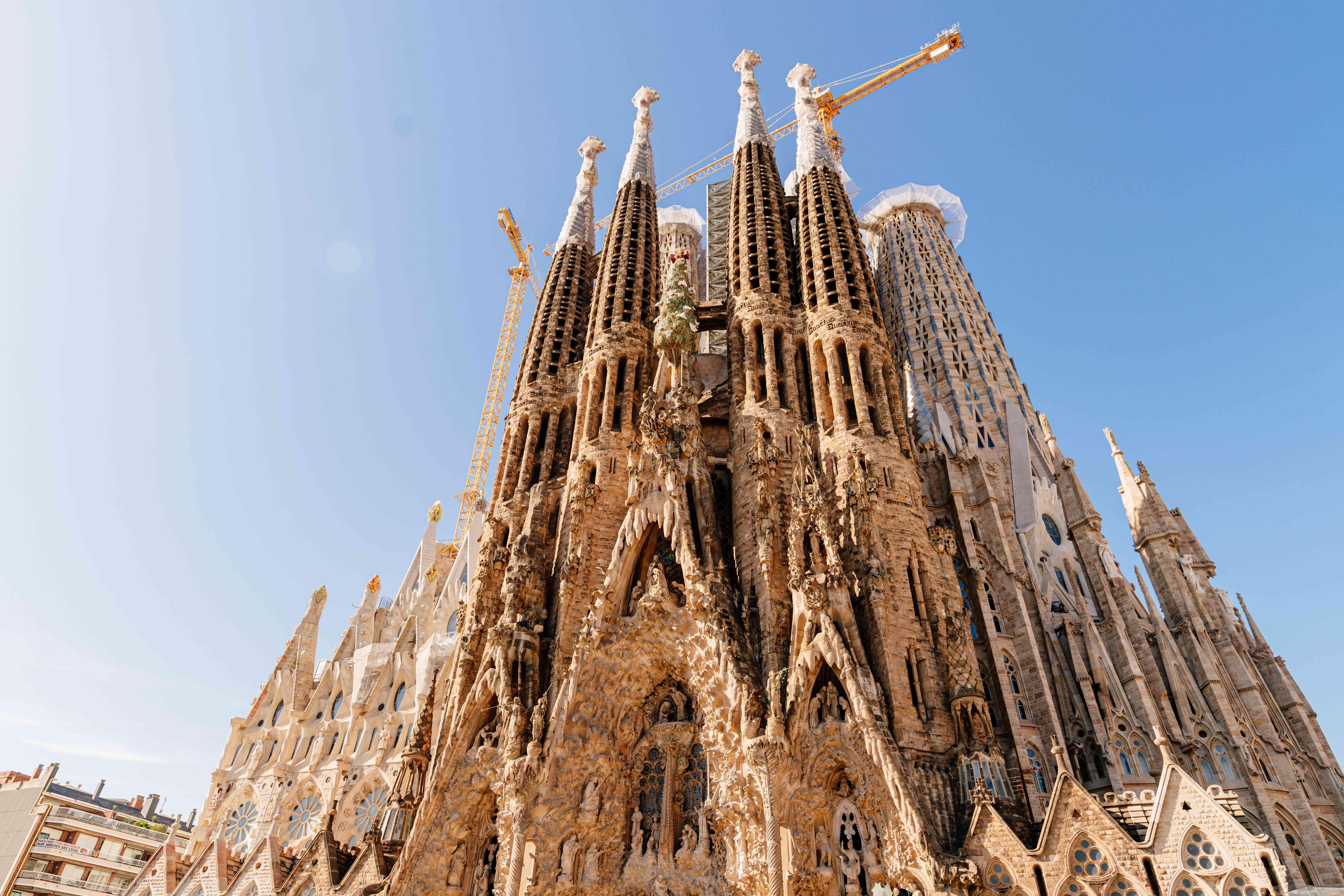 Gaudi S Sagrada Familia In Barcelona