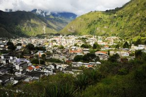 Foothills around Banos, Ecuador