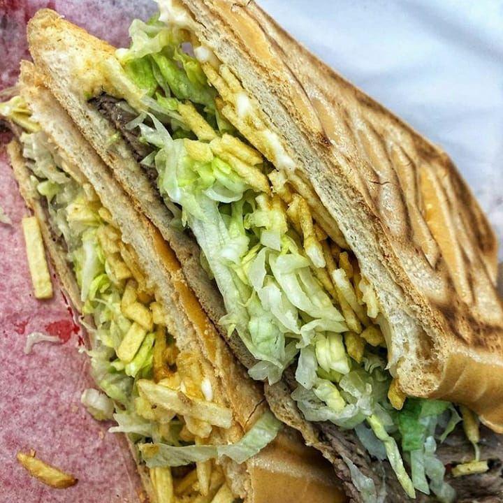 A cuban sandwich from Little Cuban Cafe