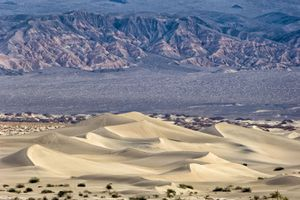 Mesquite Sand Dunes at Death Valley