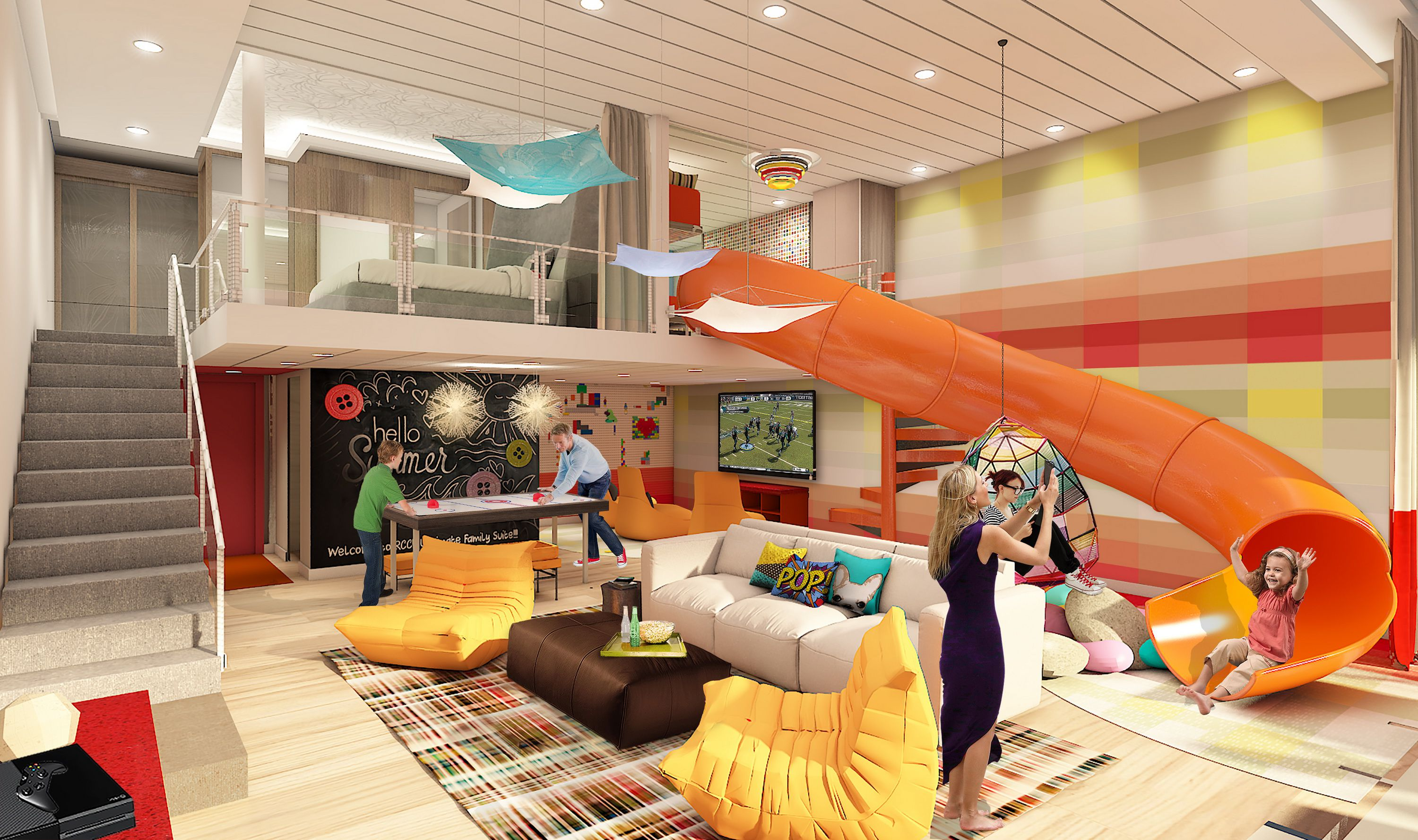 Ultimate Family Suite on the Symphony of the Seas Cruise Ship