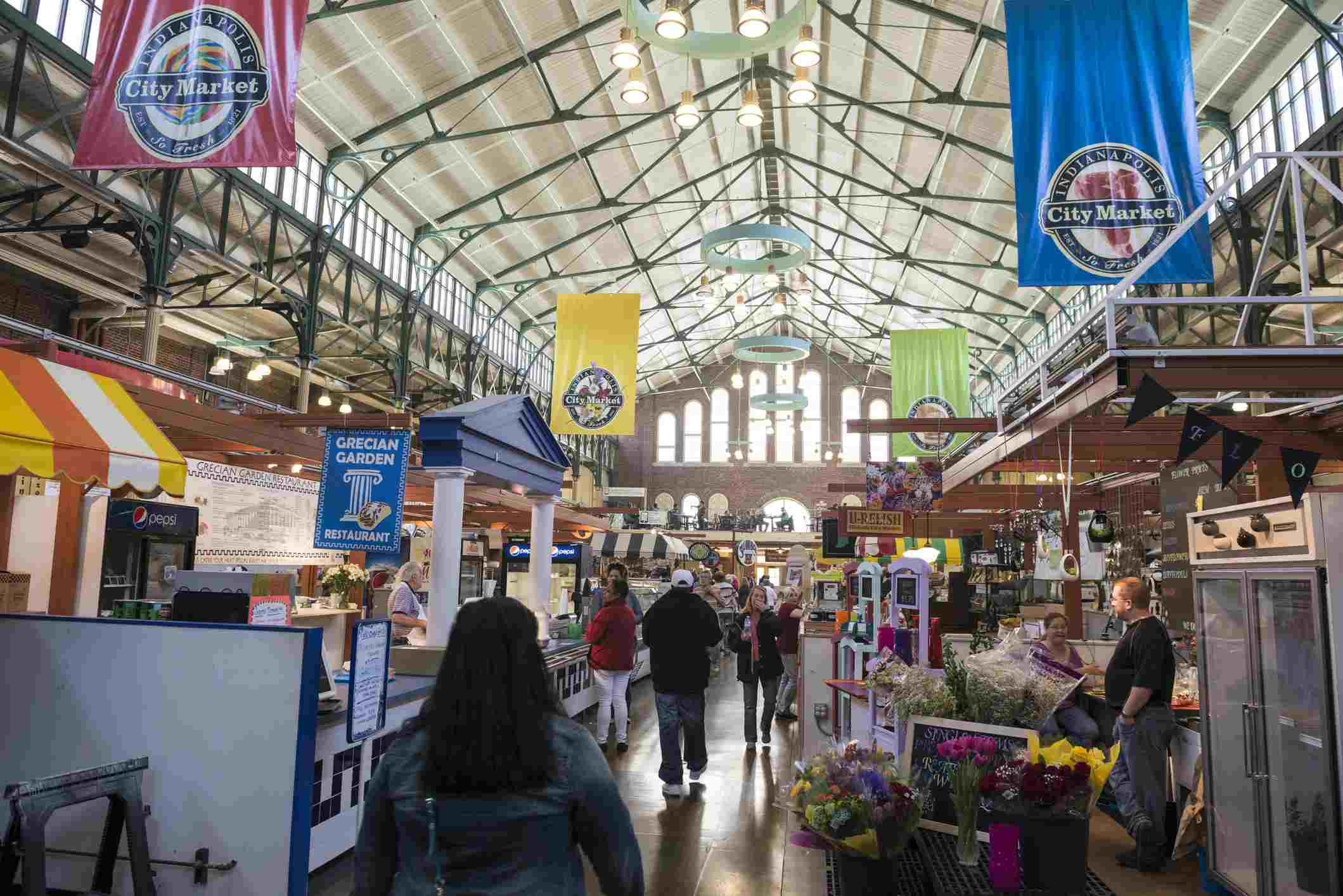 City Market in Indianapolis, Indiana