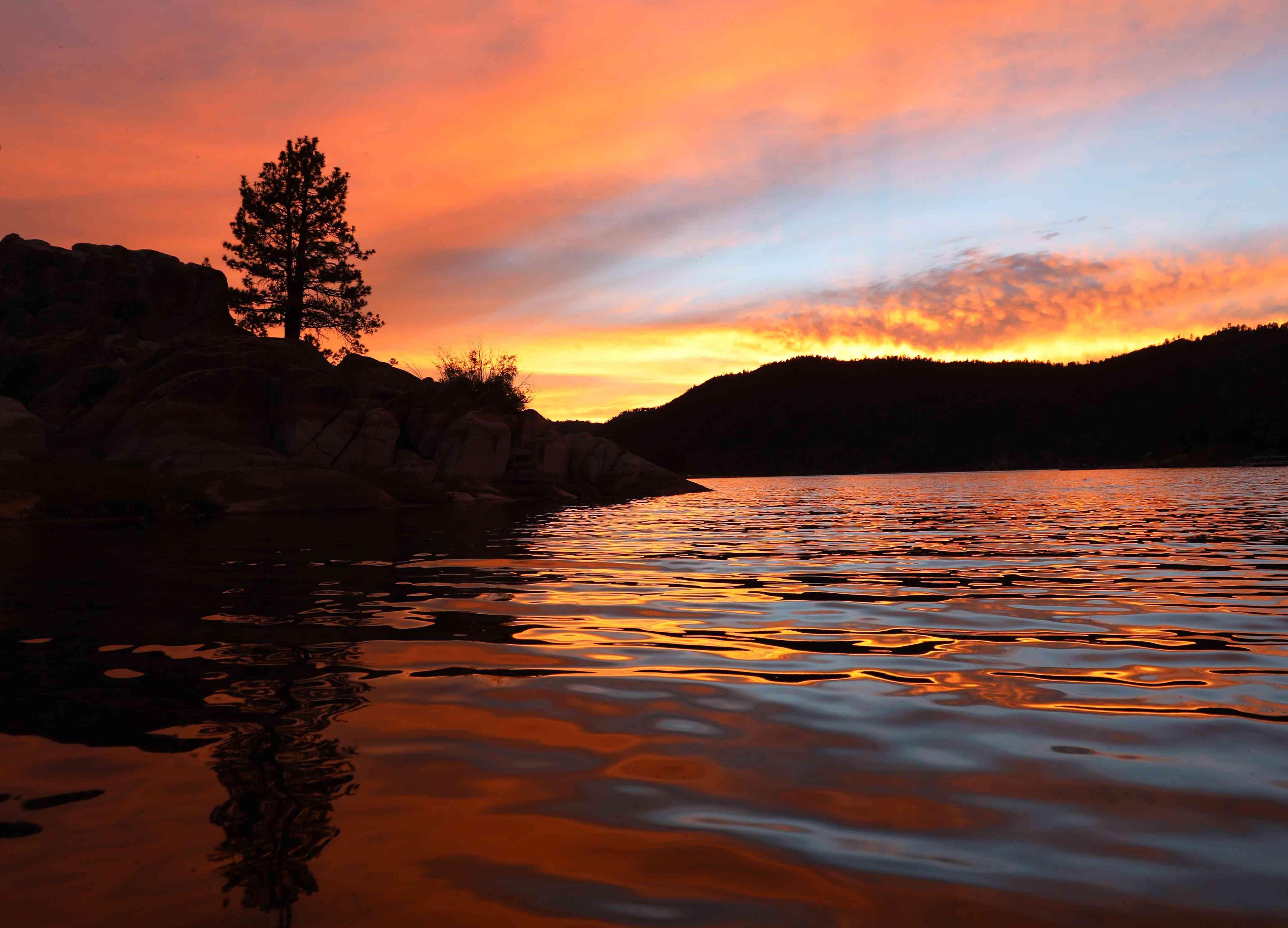 Big Bear Sunset