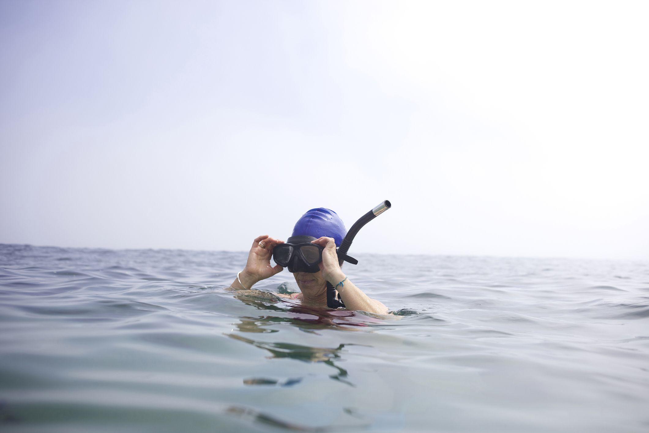 Swimming in San Diego's La Jolla Cove