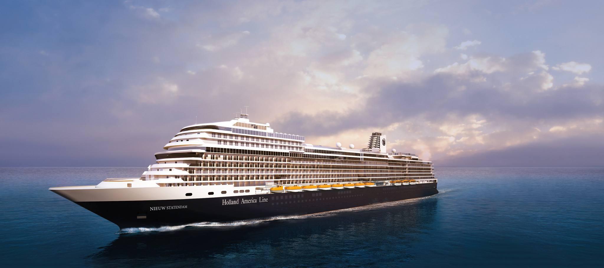 Nieuw Statendam cruise ship of Holland America Line