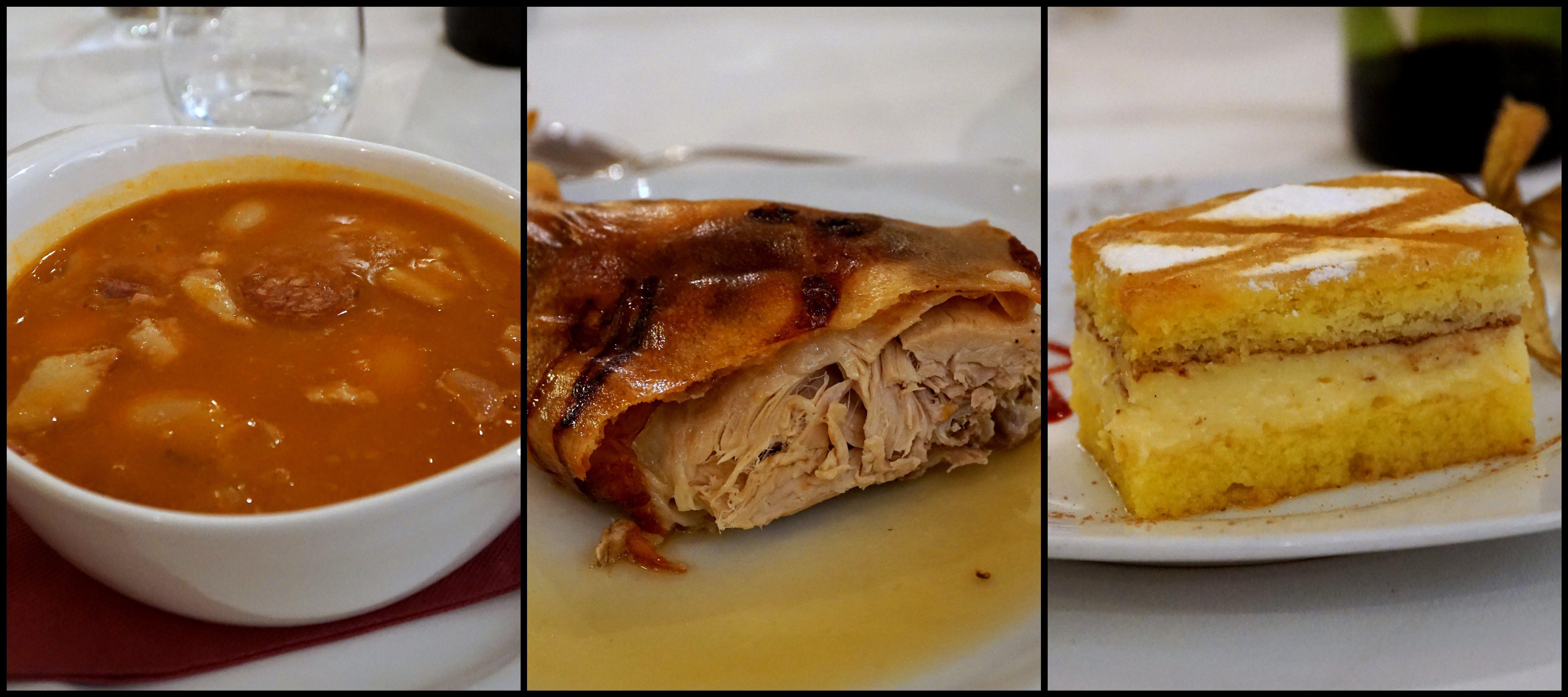 Classic lunch in Segovia