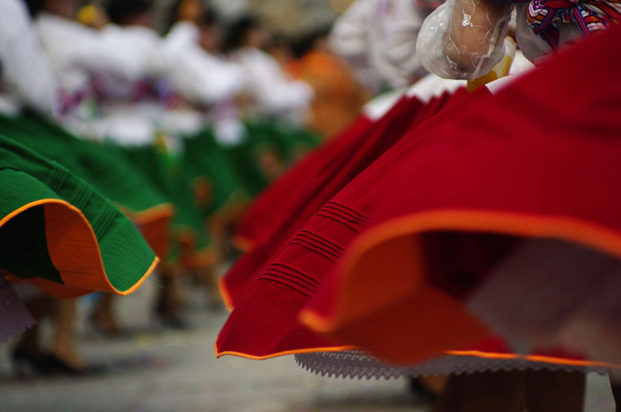 Traditional dancing in Peru