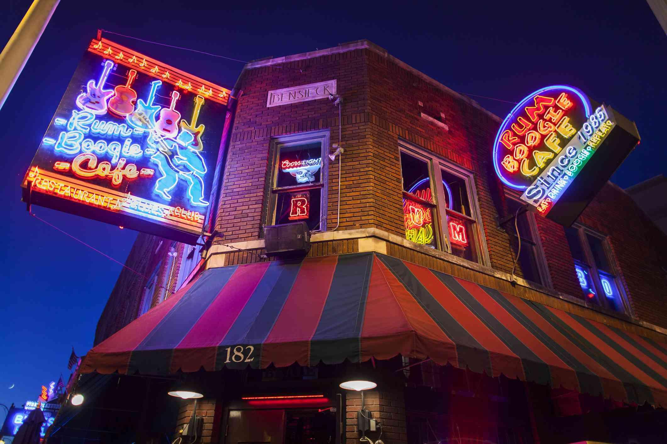 Rum Boogie Cafe en Beale Street, Memphis, TN