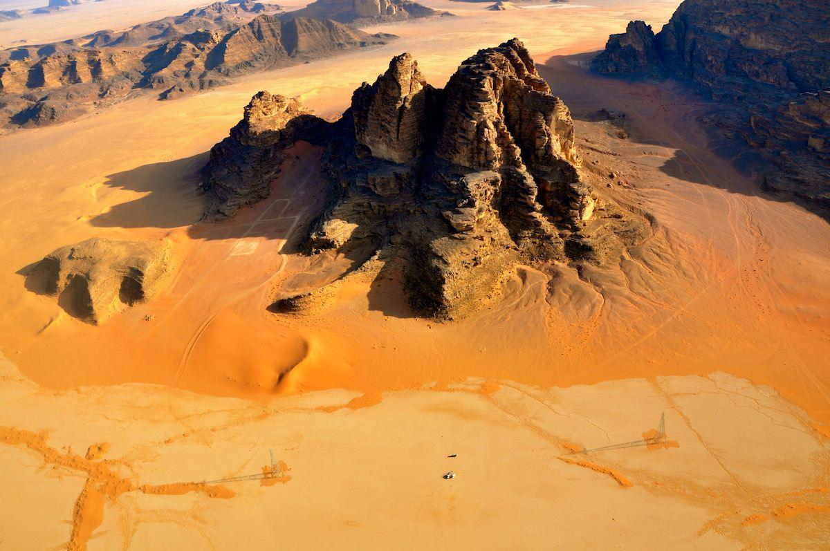 hot air balloon wadi rum