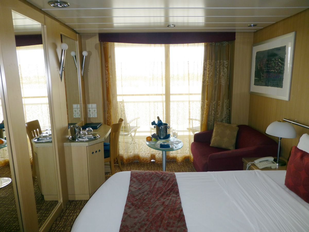 Celebrity Infinity Balcony Cabin